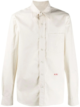 Ami Alexandre Mattiussi - Ivory Classic Button-down Shirt - Men