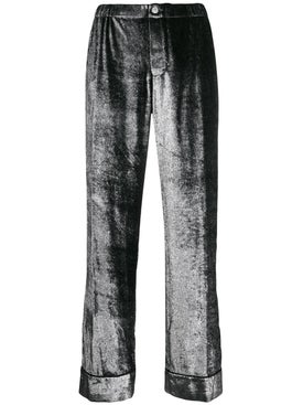 For Restless Sleepers - Silver Shimmer Trousers - Women