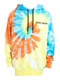 Palm Angels - Multicolored Tie-dye Hoodie - Men