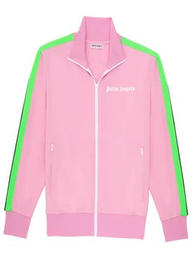 Palm Angels - Palm Angels X Icecream Pink Skull Track Jacket Pink - Men