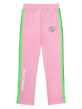 Palm Angels - Palm Angels X Icecream Pink Skull Track Pants Pink - Men