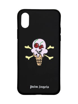 Palm Angels - Palm Angels X Icecream Iphone X Cover Black - Men