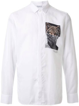Neil Barrett - Photo Print Button-up Shirt - Men