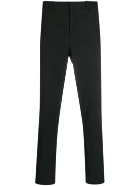 Woven side-stripe pants BLACK/OFF WHITE