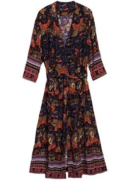Nazca midi dress