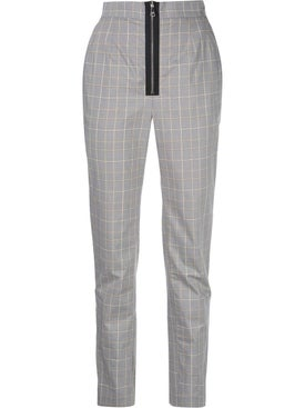 Natasha Zinko - Grey Check Print Pants - Women