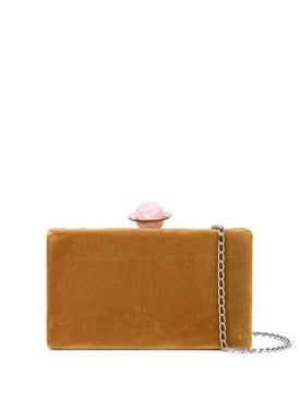 Edie Parker - Velvet Jean Box Bag - Clutches