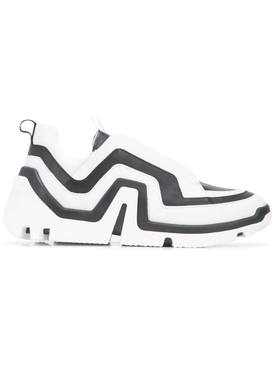 Pierre Hardy - Vibe Sneakers Black & White - Women