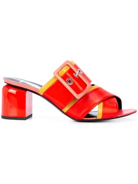Pierre Hardy - Lhd X Pierre Hardy Buckled Mules - Women