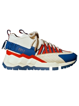 Pierre Hardy x Victor Cruz V.C.I SX03 sneakers WHITE RED BLUE