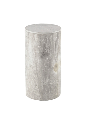 Large Cylindrical Stone Box