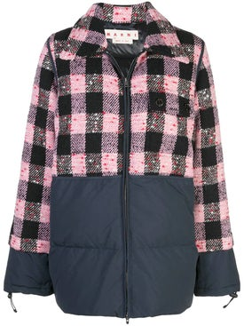Marni - Checked Quilted Jacket - Women