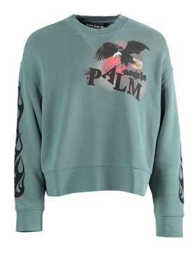 Pine green eagle sweatshirt
