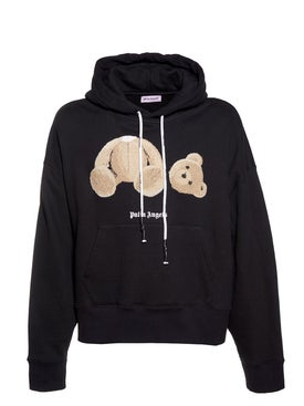 Palm Angels - Kill The Bear Cropped Hoodie - Men