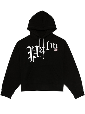 Gothic logo hoodie