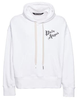 Palm Angels - Sacred Heart Hoodie Off White - Men