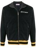 Palm Angels - Logo Velvet Track Jacket Black - Men