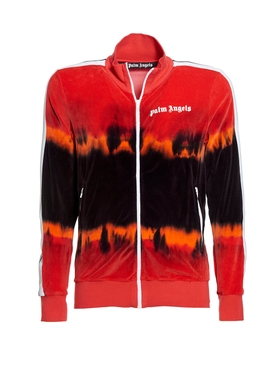 Tie-dye Track jacket RED