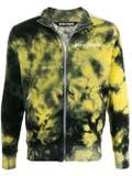 Palm Angels - Tie-dye Track Jacket Yellow - Men