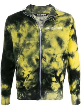 Palm Angels - Tie-dye Bomber Jacket Yellow - Short
