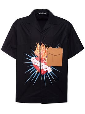 Palm Angels - Sacred Heart Shirt - Men