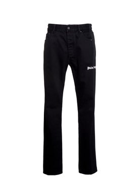 Palm Angels - Bootcut Track Denim Jeans Black - Denim