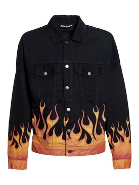 Palm Angels - Burning Denim Jacket - Men