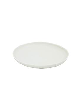 KAYA porcelain bread plate WHITE