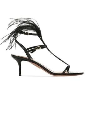 ponza feather sandals