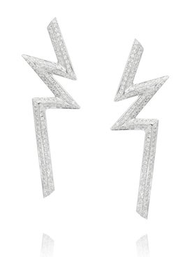 Ralph Masri - Phoenician Bolt Earrings - Fine Jewelry