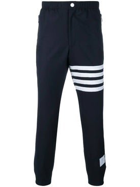 Thom Browne - Four-bar Stripes Trouser Blue - Men