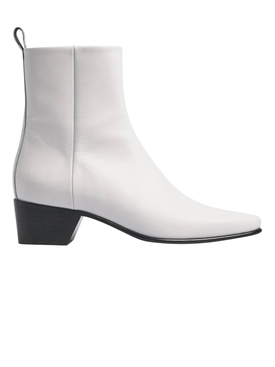 Reno ankle boots WHITE