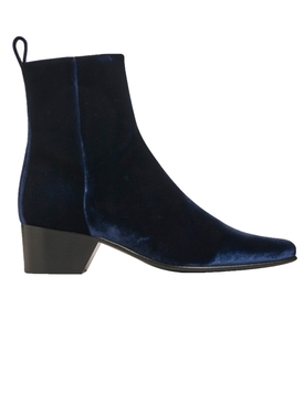 Reno Ankle Boot Blue Velvet