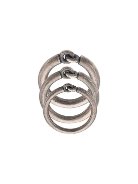 Solstice triple ring set