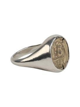 vintage Sterling silver signet ring