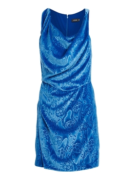 Atlein - Blue Velvet Dress - Women