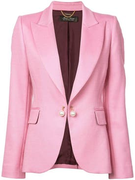 Adam Lippes - Pink Single Breasted Blazer - Women