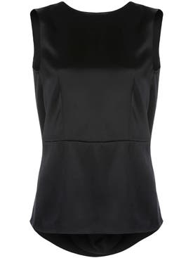 Adam Lippes - Black Cowl Neck Top - Women