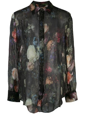 Adam Lippes - Sheer Floral Print Shirt - Women