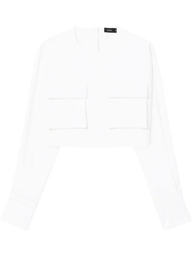 Proenza Schouler - Flap Pocket Crop Top - Women