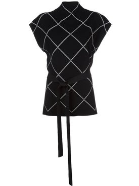 Proenza Schouler - Belted Knit Top - Women