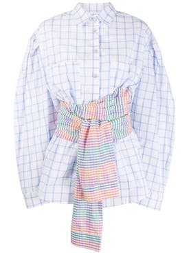 Natasha Zinko - Multicolored Corset Shirt - Women