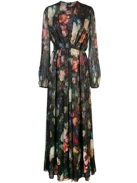 Adam Lippes - Multicolored Floral Chiffon Gown - Women