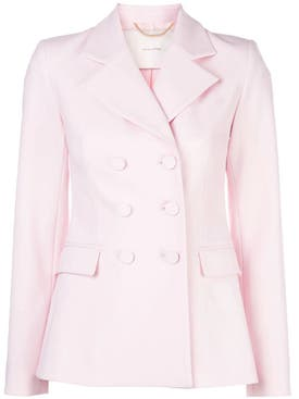 Adam Lippes - Light Pink Double Breasted Blazer - Women