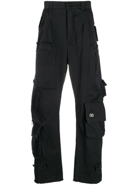 Duo - Pleated Cargo Trousers - Men
