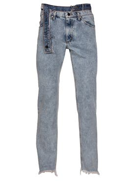 Duo - Talk Less Act More Double Waistband Jeans - Men
