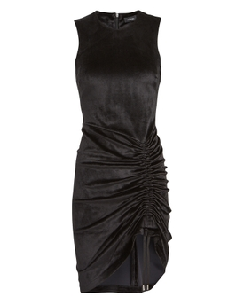 BODYCON SIDE RUCHED DRESS