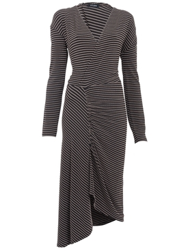 Atlein - Stretch Jacquard Midi Dress - Women