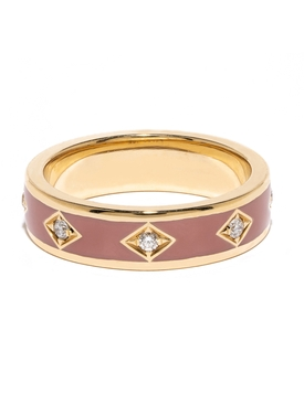 Azlee - Pink Sky Diamond Band - Women