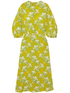 Valentino - Crepe De Chine Dress - Women